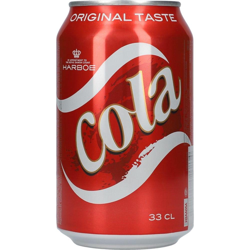 Harboe Cola 24 x 0,33 l – Nielsen Discount